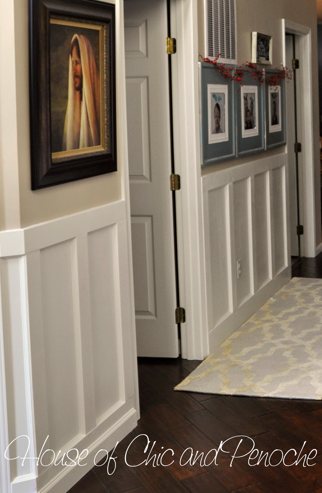 House Of Chic And Penoche Diy Board And Batten Entryway