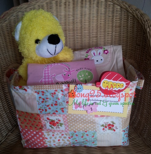 blog along25 diapers cake murah comel hadiah baby bayi budget hamper