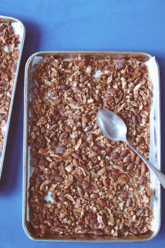 Milk and Honey: Chocolate, Almond, Coconut Granola