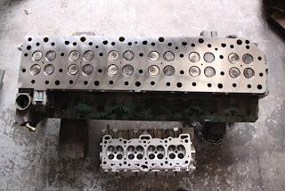 hytech engines workshop blog huge volvo cylinder head