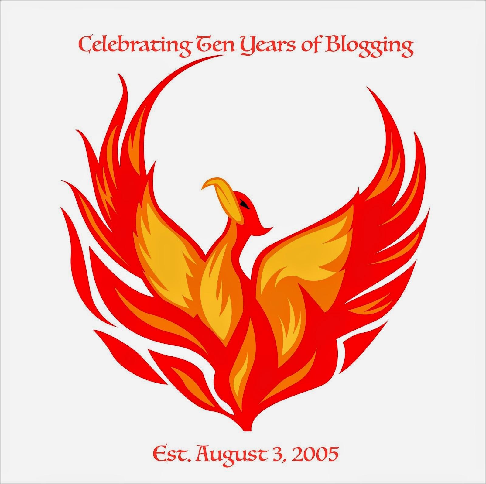 10 Year Blogiversary