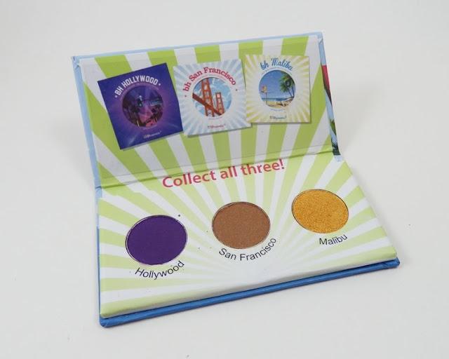 BH Cosmetics California mini palette