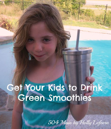 Drink Your green smoothies!