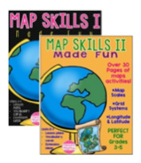 https://www.teacherspayteachers.com/Product/Map-Skills-I-II-Units-1-7-No-Prep-Scales-Grids-Longitude-Latitude-2032533