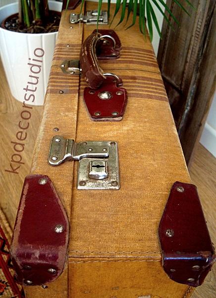 Maletas viejas estilo vintage para decoración nórdica