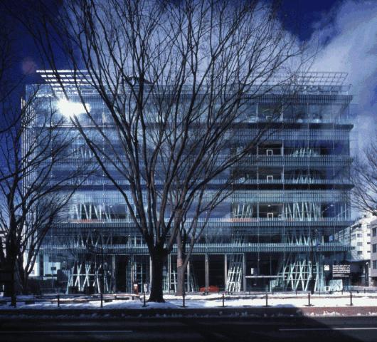 Faccaiata della Mediatheque di Sendai