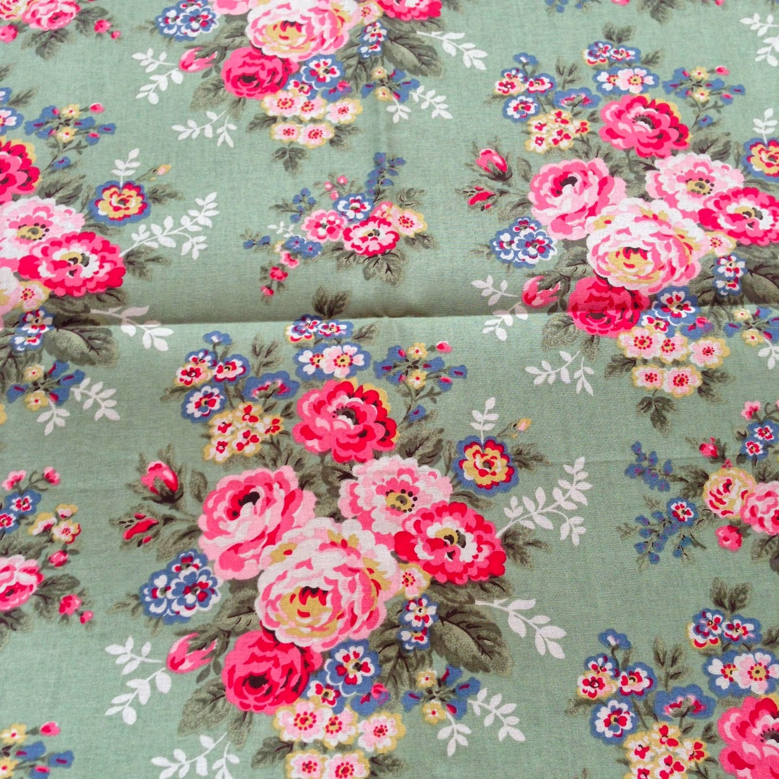 "May May Shop C2388 Canvas ""Candy Flowers Cotton Duck"""