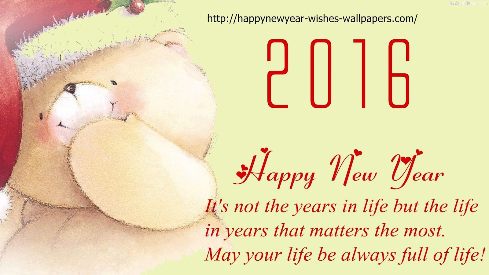 New year 2016 wallpapers wishes happy new year gretings card happy new year gretings card designs for your family hd images kristyandbryce Gallery