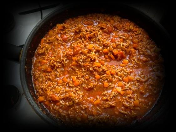 A'la chili con carne