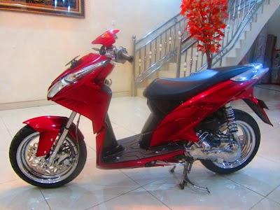 Gambar Modifikasi Motor Honda Vario Terbaru 2014