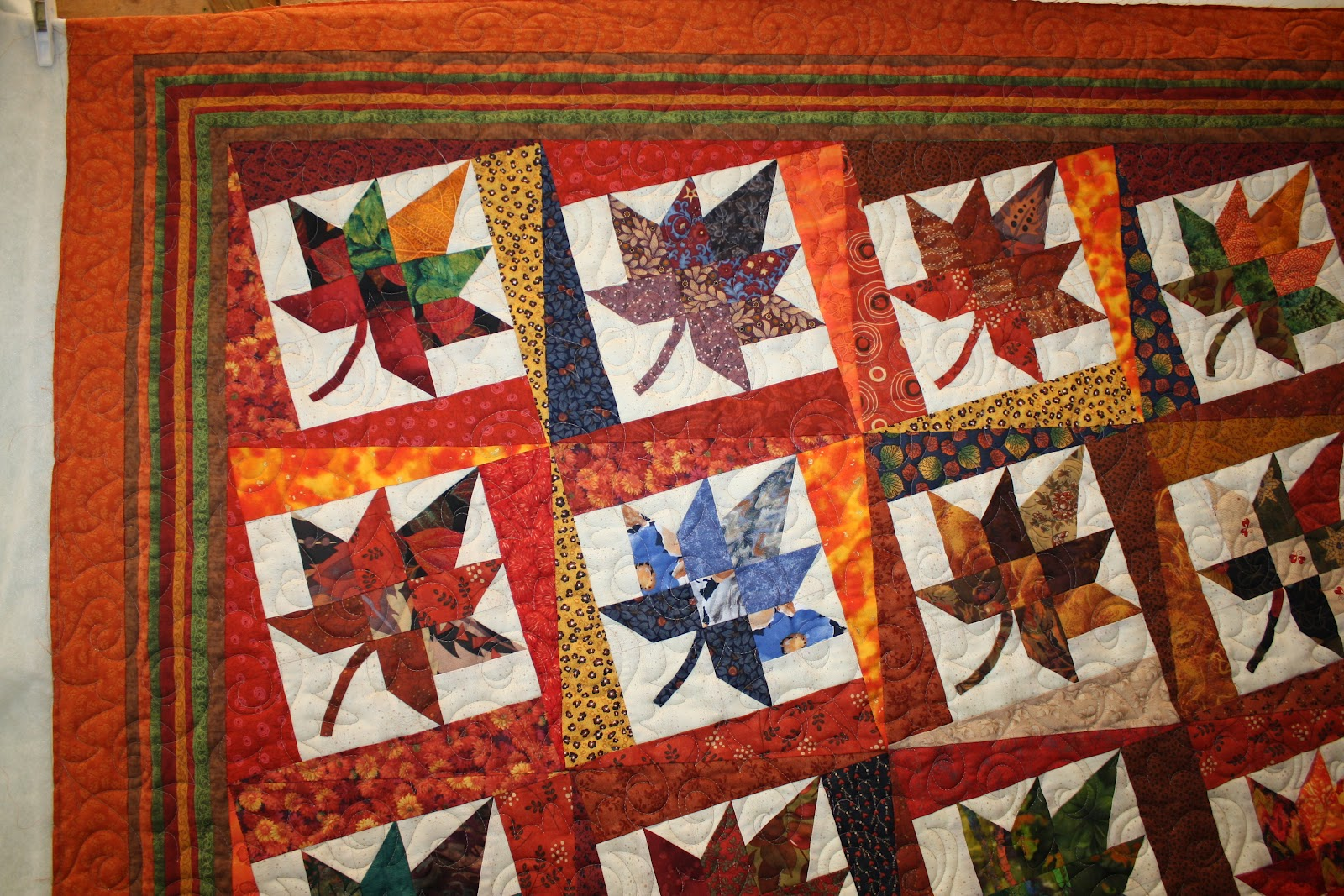 Quilt Template Leaves : Jane Monk Studio - Longarm Machine Quilting & Teaching the Art of Zentangle?: A beautiful Autumn ...
