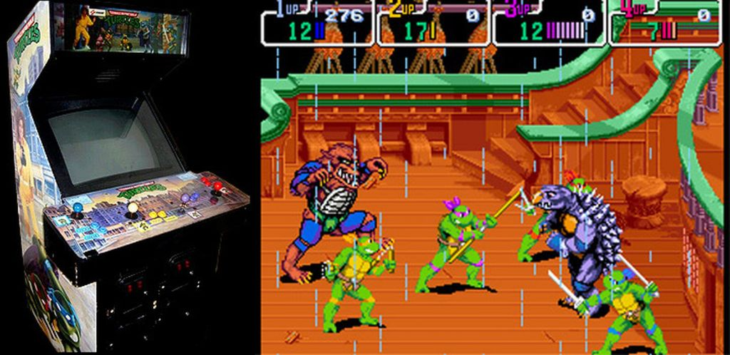 Sweet. Teenage Mutant Ninja Turtles (arcade). Not only did this kick ass, ...