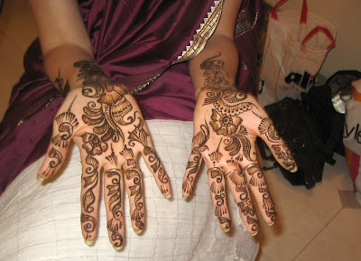 the power of moslem - Arabic mehndi designs 3