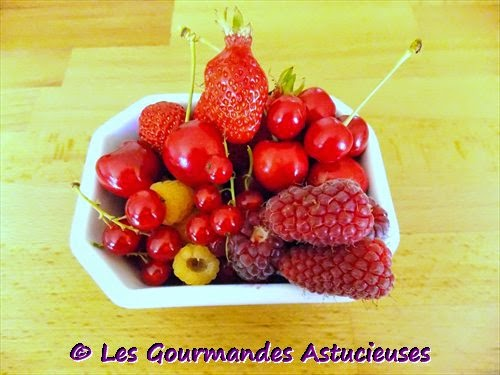 Ma récolte de fruits quotidienne