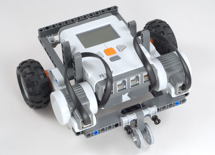 Express Bot A Simple Modular Robot For The 9797 Set The Nxt Step