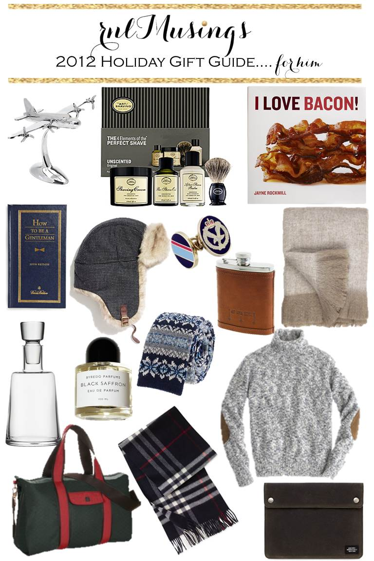 rnlMusings: Holiday Gift Guides.... for Him