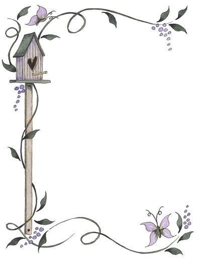 Margenes para cuadernos decorativos para hojas - Imagui