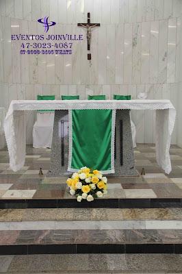 Decoração de igreja em Joinville