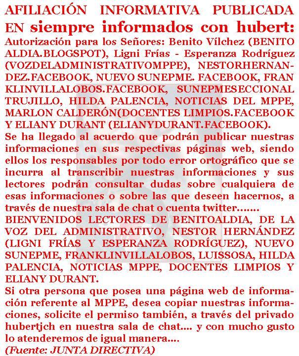 Siempre Informados Con Hubert Personal Administrativo Del /page/221