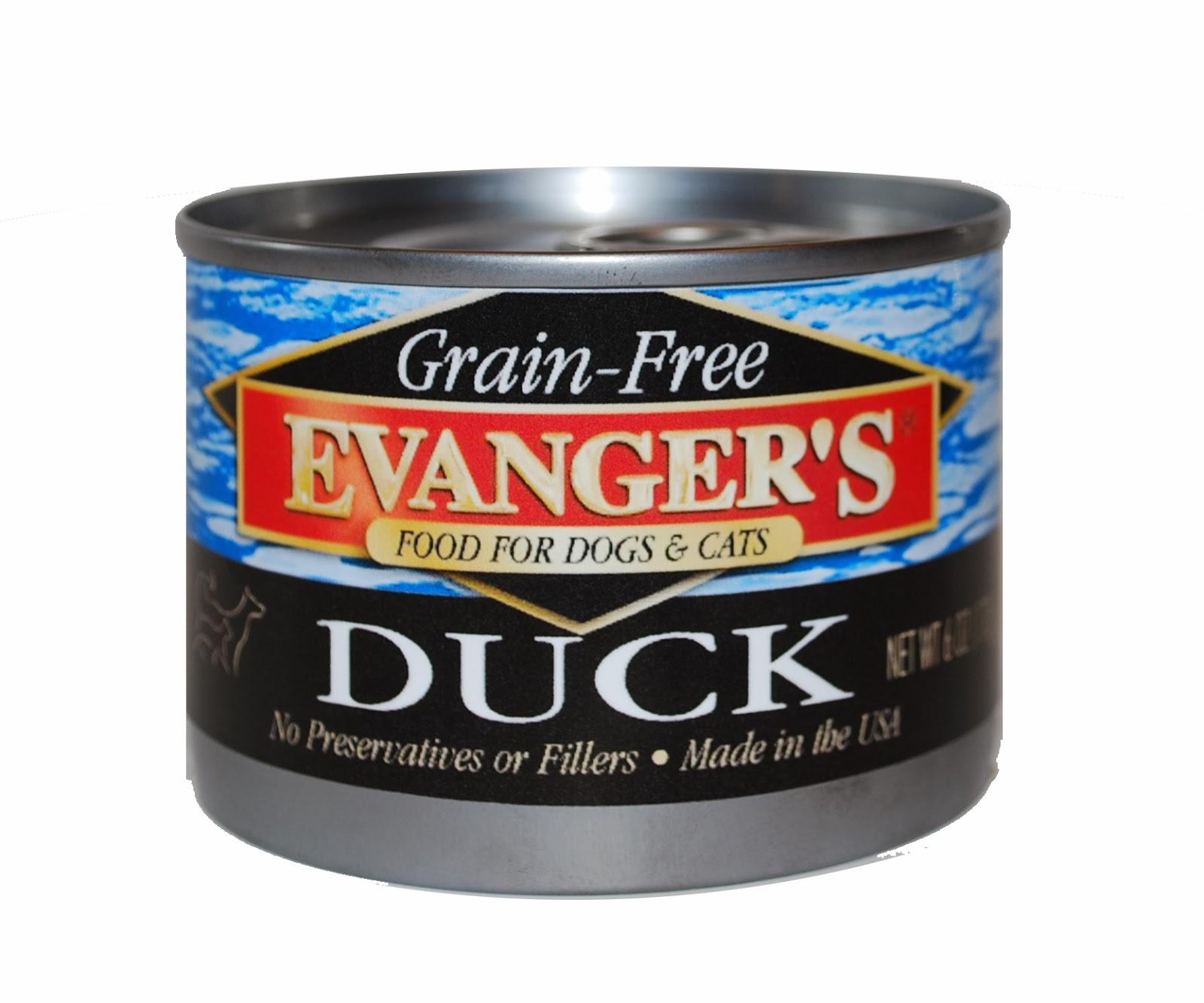 Evanger's Grain-Free Duck