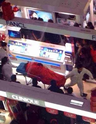 Chinês suicidou-se porque a sua namorada insistia em comprar sapatos