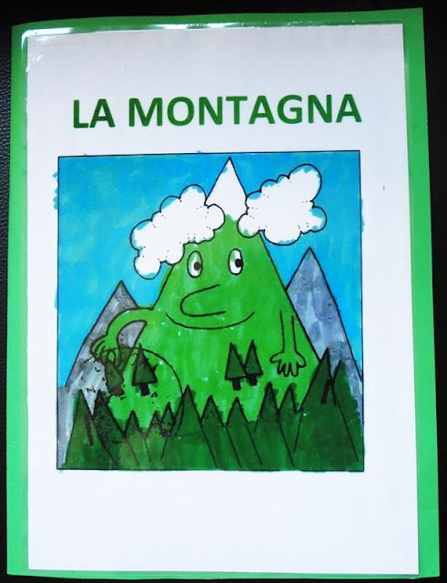 Studiamando liberamente lapbook la montagna - Immagini da colorare delle montagne ...