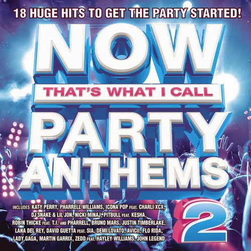 Now Party Anthems Vol 2-2014