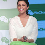 Parineeti Chopra Super Sexy Legs Show At WeChat App Launch In Taj Colaba, Mumbai
