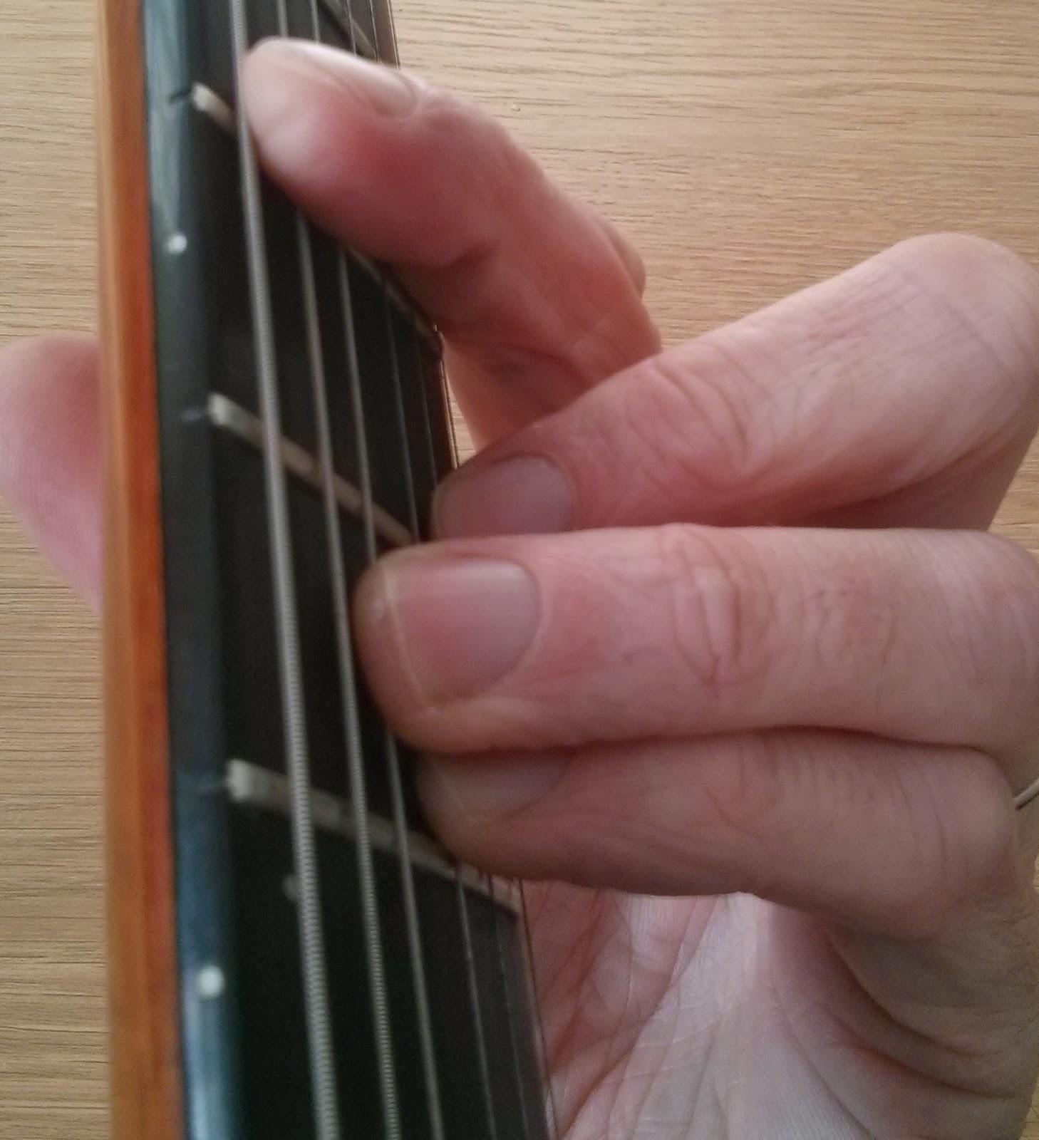 Dbmin guitar chord