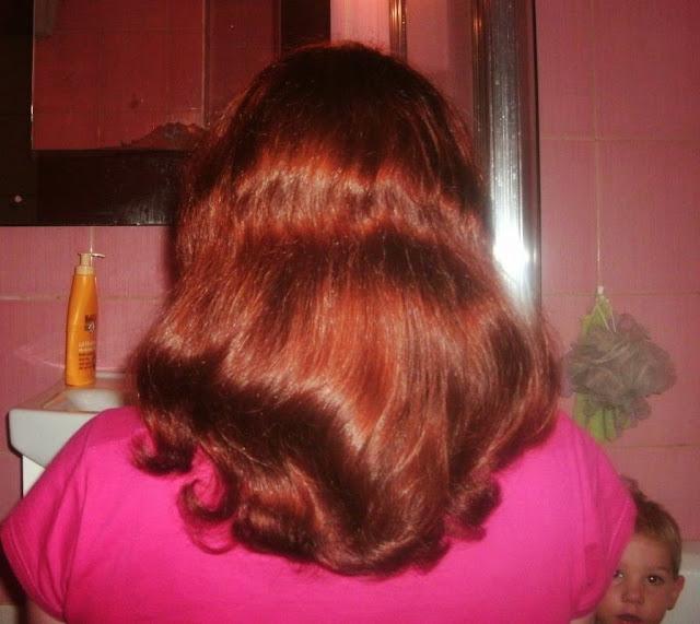 Niedziela dla włosów z kallosem bananowym i olejem z orzecha laskowego :)