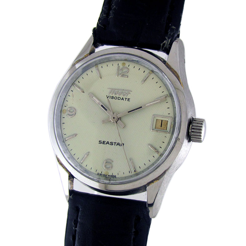 Antique watches collection by wristmenwatches tissot viso date sea star manual winding watch by for Celebrity tissot watches