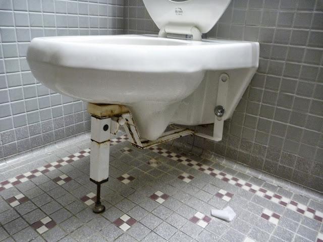 reinforced toilet