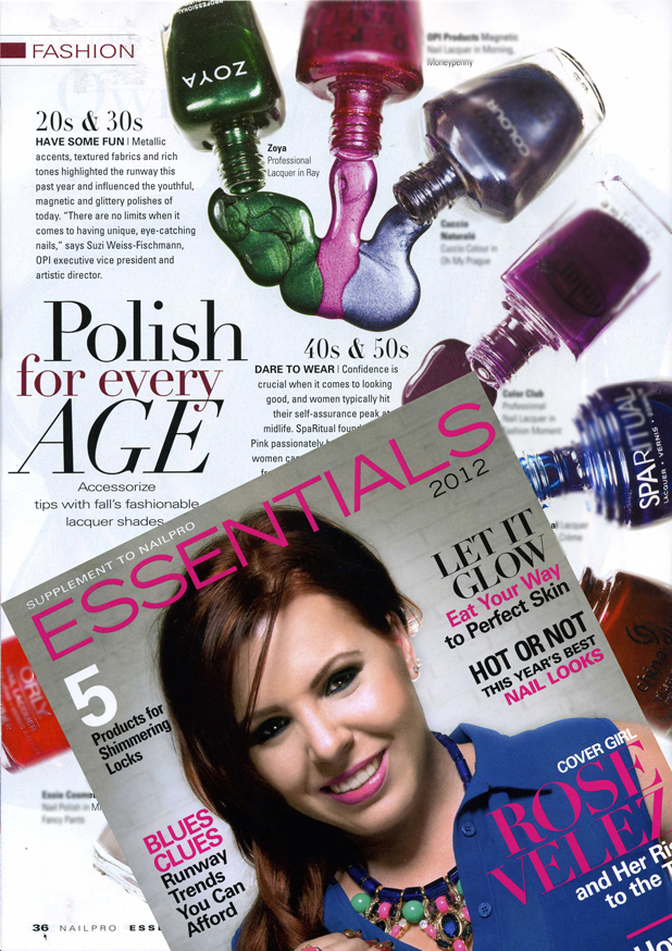 NailPro Magazine - Essentials features Zoya Nail Polish in Ray ...