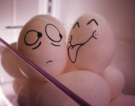 Mơ nhặt được 3 ổ trứng trên cánh đồng