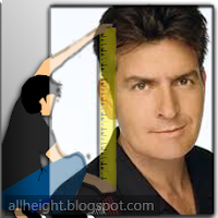 Charlie Sheen Height - How Tall