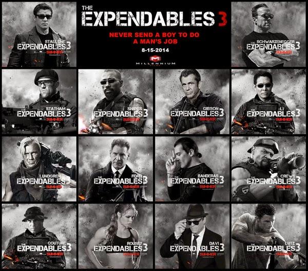Film The Expendables 3 Rilis Agustus 2014