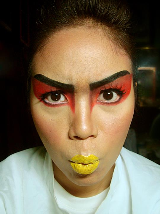 CandyLoveArt My Angry Bird Makeup Tutorial