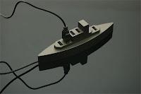 Cổng USB mô hình tàu chiến
