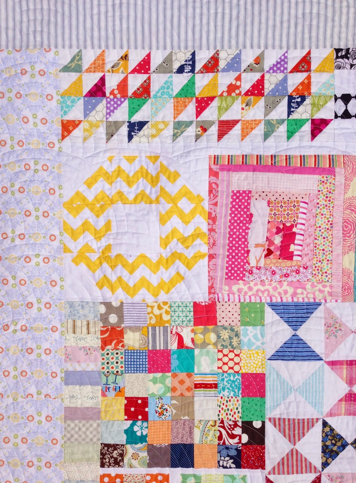 Scrap Kitchen Sink Quilt Blocks