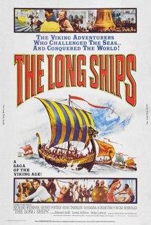 THE LONG SHIPS - OS LEGENDÁRIOS VIKINGS - 1964