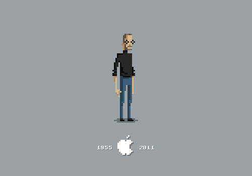 michaelmyers 20 Awesome Graphical Tributes to Steve Jobs