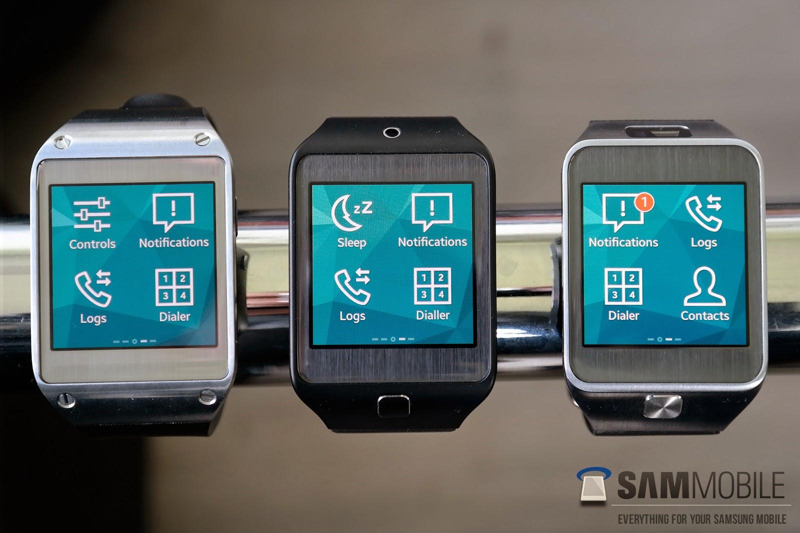 Galaxy Gear - Tizen OS
