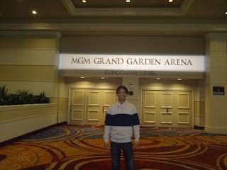 mgm grand arena - las vegas