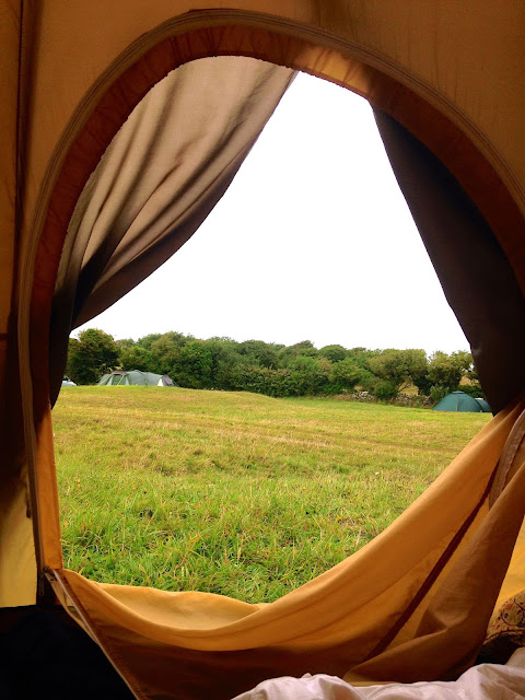 Camping in Dorset