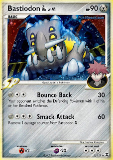 Bastiodon GL Pokemon Card Rising Rivals Set