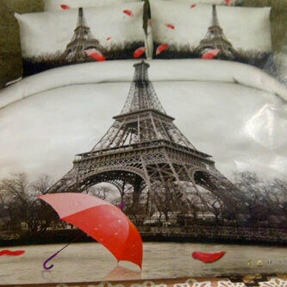 Sprei Jepang Panel Motif Menara Eiffel