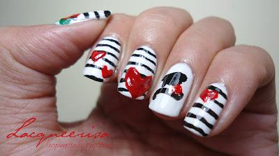 NOTD - Mime Me Some Stripes