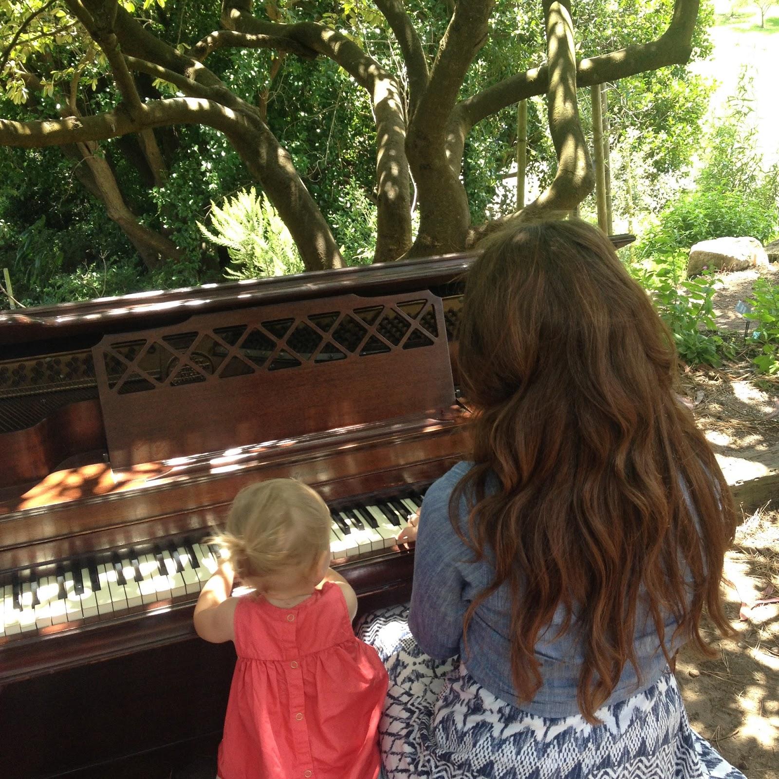 THE pepper EXPRESS: Flower Piano - Golden Gate Park - San Francisco