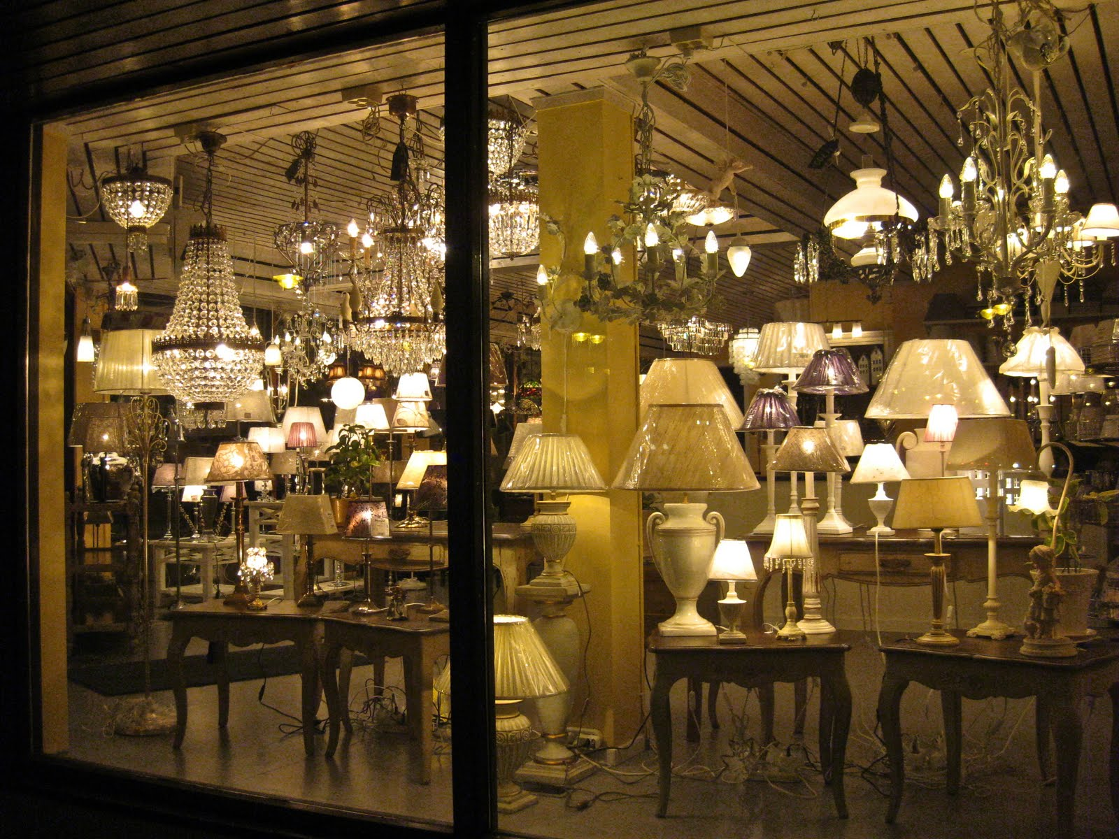 Nice I Like The Light That Streams Through The Window Of This Lamp Store At  Night. I Walked Past It One Evening And Wanted To Take A Photo Of It. Here  It Is!