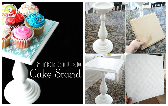 The creative orchard september 2011 for How to make a cake stand